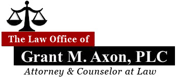 Law Office of Grant M. Axon, PLC Logo